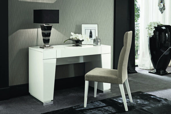 Picture of Canova White High Gloss Vanity with Mirror