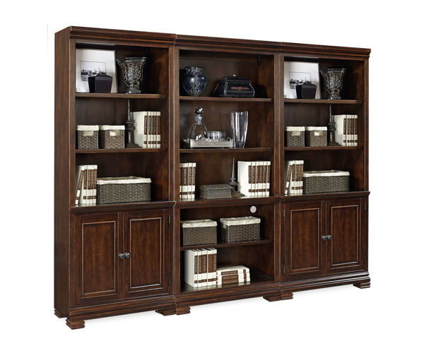 Picture of Weston Bookcase with Doors