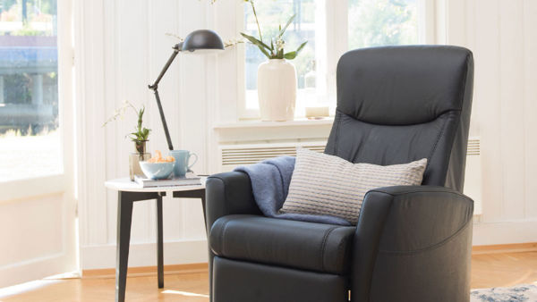 Picture of Large Light Grey Oslo Relax Chair