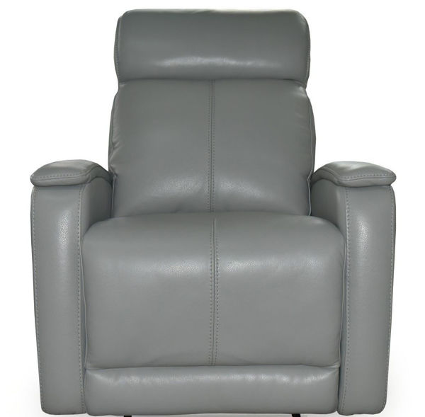 Picture of Leather Recliner with Double Power