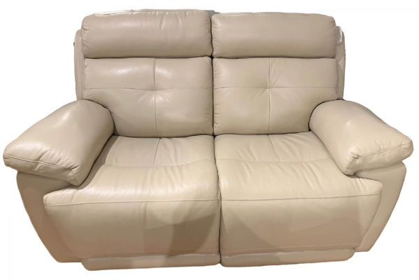 Picture of Leather Loveseat with Double Power