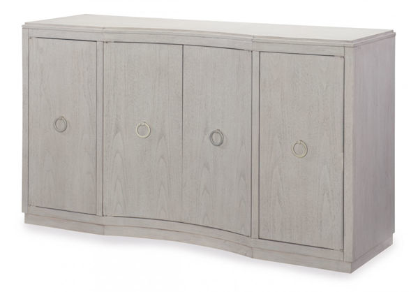 Picture of Cinema By Rachael Ray Shadow Grey Finish Credenza