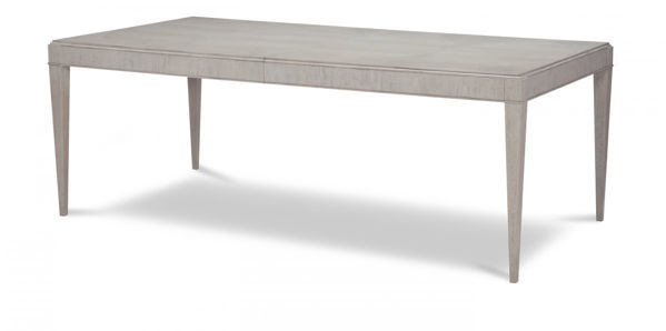 Picture of Cinema By Rachael Ray Shadow Grey Finish Rectangular Leg Table