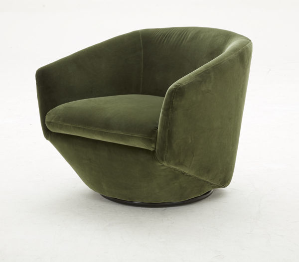 Picture of Green Fabric Occasional Chair