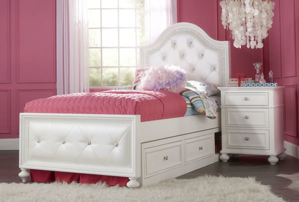 Picture of Madison Upholstered Twin Bed