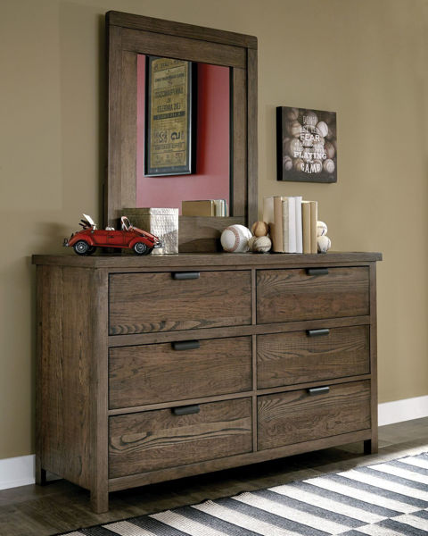 Picture of Fulton County Tawny Brown Finish Dresser