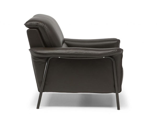 Picture of Natuzzi Editions C110 Amabile Taupe Leather Chair