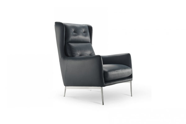 Picture of Natuzzi Italia After Eight Wing Back Occasional Chair