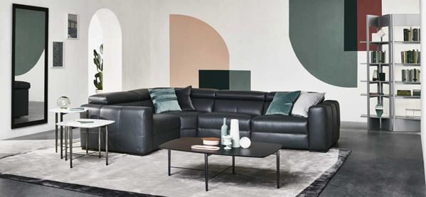 Picture of Natuzzi Italia Balance Fabric Sectional