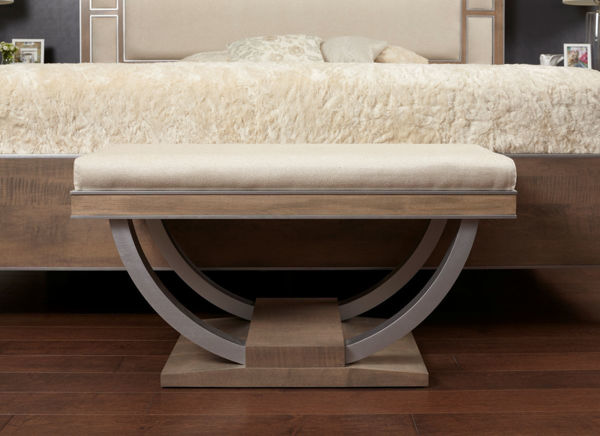Picture of Luxe Bedroom Bench